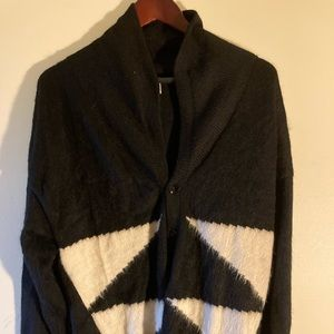 Other - Men's Cowl Neck Cardigan